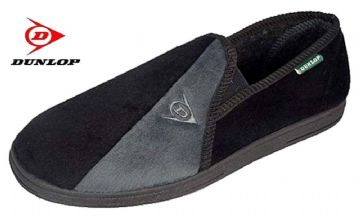 Dunlop Winston II Slippers Black/Grey